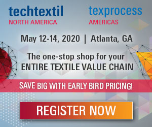Techtextil, May 12-14. Register Now!
