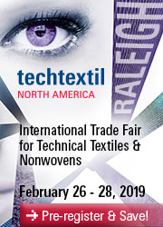 Techtextil NA International Trade Fair 2/26-28/19