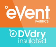 eVent fabric - DVdry insulated