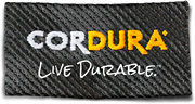 Cordura live durable logo