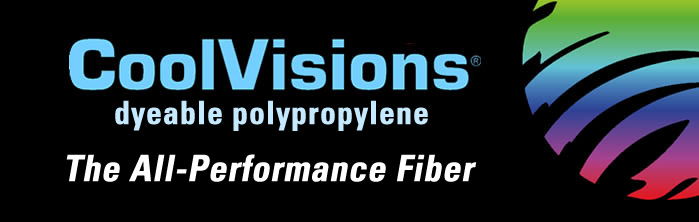 CoolVisions dyeable polypropylene, The All-Performance Fiber