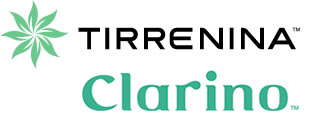 Tirrenina, clarino and amaretta logos