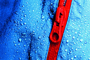 zipper close up