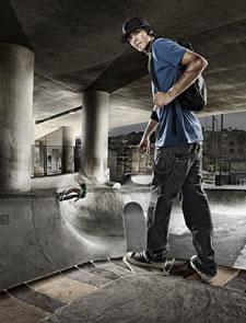 Skater Print Cordura