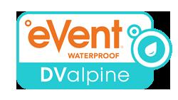 eVent Waterproof DValpine logo